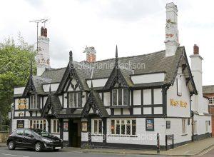 The Nag's Head pub in Wrexham, Wales