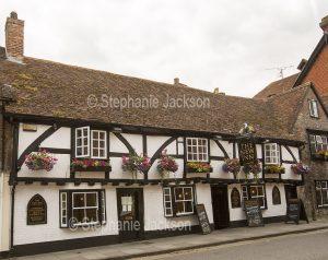 The New Inn pub in Salisbury, Wiltshire, England