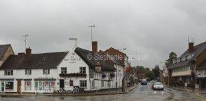 The historic 15th century Old Thatch Tavern in Stratford-upon-Avon in Warwickshire, England