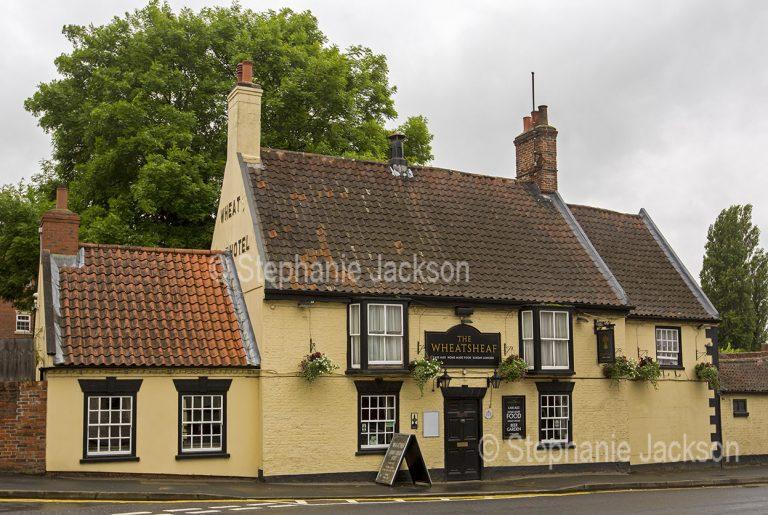 The Wheatsheaf pub at Barton-upon-Humber in Lincolnshire, England