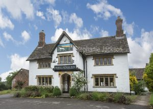 The White Horse Inn free house at Compton Bassett, Wiltshire, England