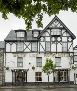 The White Lion Royal Hotel at Bala in Gwynedd, Wales