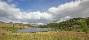 Welsh landscape - Lake near the town of Betwys y Coed in Wales.