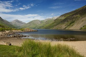 Wastwater is the deepest of the many lakes in the Lake District in Cumbiria, England.