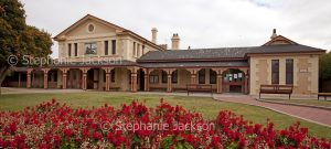 Historic building, courthouse at city of Broken Hill in NSW Australia
