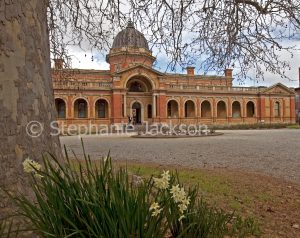 Historic building, courthouse at city of Goulburn in NSW Australia