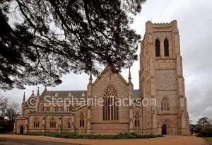 Saint Saviour's cathedral / church in city of Goulburn, NSW Australia