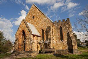 Historic Anglican Church in Tumut, NSW Australia