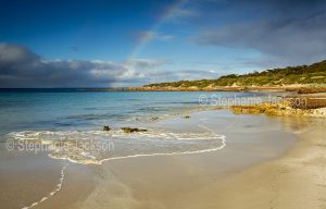 Beach at Donnington in Lincoln National Park on the Eyre Peninsula in South Australia.