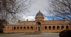 Historic and elegant courthouse in the city of Goulburn in NSW Australia