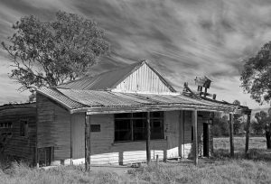 old butcher's shop at outback town of Nymagee, near Cobar in NSW Australia