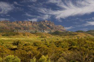 Rugged peaks of Flinders Ranges National Park in outback / northern South Australia.