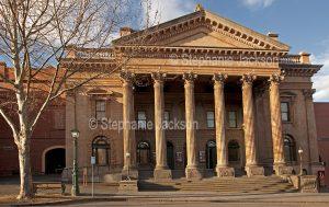 Historic building, The Capital, an entertainment venue, originally the Sandhurst Masonic Hall, in the city of Bendigo in Victoria Australia.