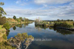 Murray River at Swan Reach in Victoria Australia.