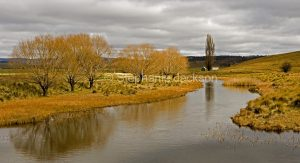 Murrumbidgee River, during winter, near Adaminaby in the Snowy Mountains in NSW Australia