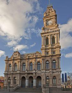 Historic building, old Post office, in the city of Bendigo in Victoria Australia.