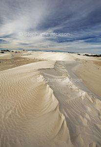 Coastal landscape, Yanerbie sand hills / dunes near Streaky Bay on Eyre Peninsula South Australia