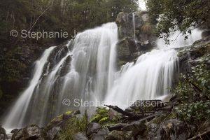 Snob's Creek falls near Eildon in Victoria Australia.