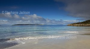 Beach at Taylor's Landing in Lincoln National Park on the Eyre Peninsula in South Australia.