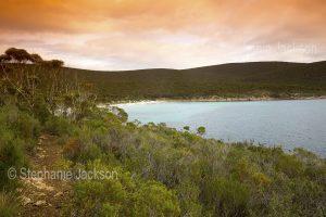 Beach at Memory Cove in Lincoln National Park on the Eyre Peninsula in South Australia.