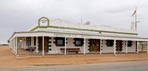 The iconic hotel at the outback town of Birdsville in Queensland Australia