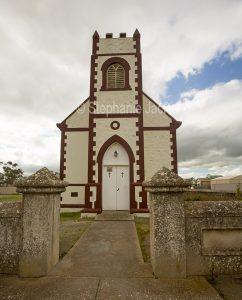 Church at Minlaton on the Yorke Peninsula South Australia