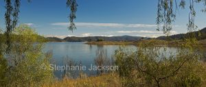 Panoramic view of Lake Glenbawn, near Scone in NSW Australia.