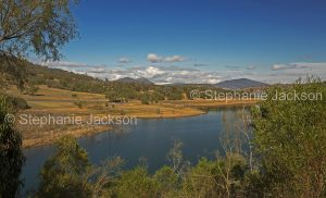 Lake Glenbawn, near Scone in NSW Australia, during a prolonged drought.